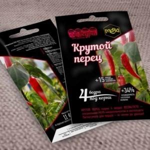 Удобрение МЕРА для перцев/баклажанов «КРУТОЙ ПЕРЕЦ» с фульвокислотами