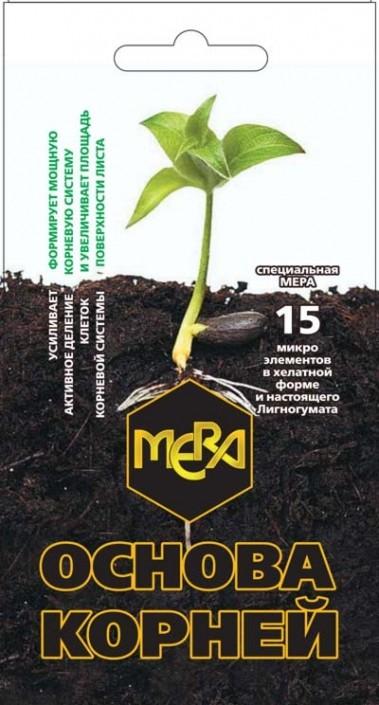 Удобрение MEРA для корней <br>«ОСНОВА КОРНЕЙ»