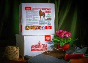 Еще одна новинка сезона Биогранулы AGROMERA Конский навоз.